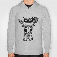 badass owls Hoody