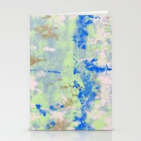 Tie Dye Stationery Cards