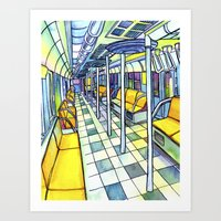 Love NYC's everything No. 5 Art Print