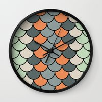 Planted Color Wall Clock