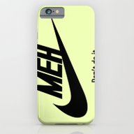 Meh Don't Do It iPhone 6 Slim Case