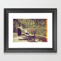 Parallel II Framed Art Print
