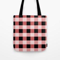 Pink squares Tote Bag