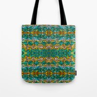 Molten gold with impurities Tote Bag