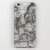 Old World Map iPhone & iPod Skin