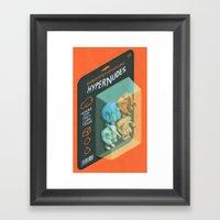Subdimensional Hypernude… Framed Art Print
