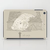 Oh carp. iPad Case