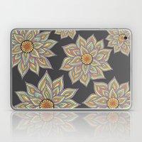 Floral Rhythm In The Dar… Laptop & iPad Skin