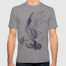 Like soaring through the heavens  Mens Fitted Tee Athletic Grey SMALL