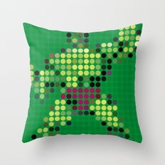 Mr Green 1 Throw Pillow