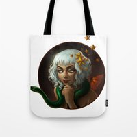 Stars And Serpents Tote Bag