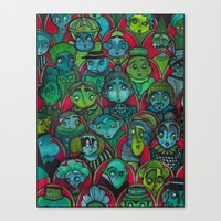 The Audience.  Canvas Print