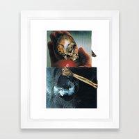 the chip Framed Art Print