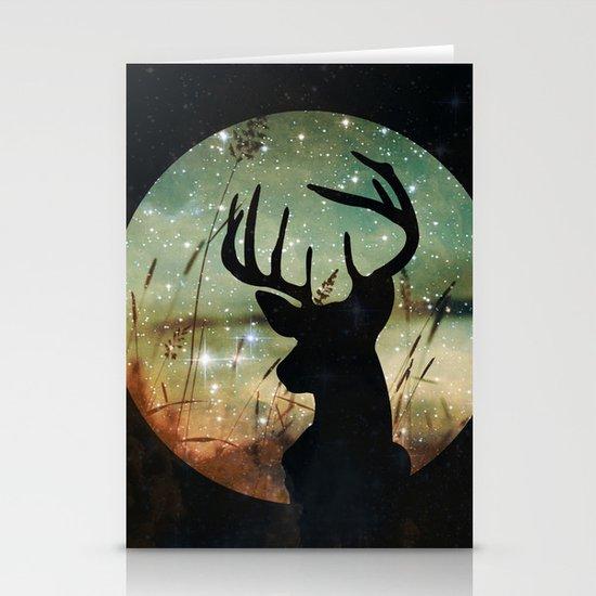 Deer 2 Stationery Card