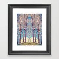 The nature of symmetry  Framed Art Print