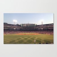 Red Sox Canvas Print