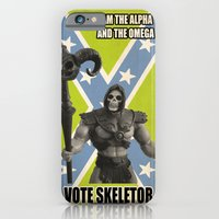 iPhone & iPod Case featuring Vote Skeletor by Itomi Bhaa
