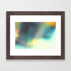 Big Diamond Framed Art Print