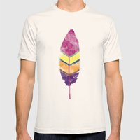 Feather Mens Fitted Tee Natural SMALL