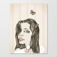 Leticia Dolera Canvas Print