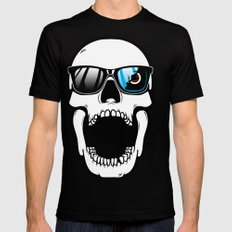 Toothless in color SMALL Black Mens Fitted Tee