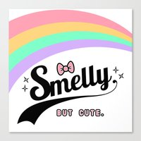 Smelly But Cute - Fairy … Canvas Print