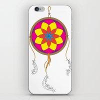 Dream Catcher Colour iPhone & iPod Skin
