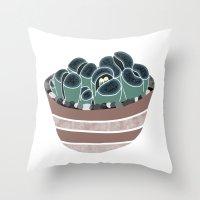 Lithops Throw Pillow