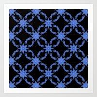 Star Field Pattern Art Print