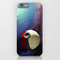 iPhone Cases featuring Giant Pokeball Planet iPhone 4 4s 5 5c 6, pillow case, mugs and tshirt by Three Second
