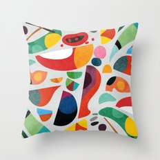 Still life from god's kitchen Throw Pillow