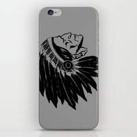 Chief Two Moons iPhone & iPod Skin