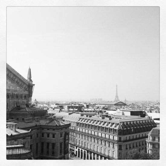 Paris in Grey Art Print