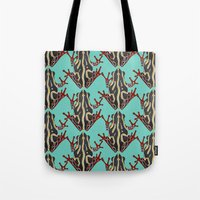 congo tree frog mint Tote Bag