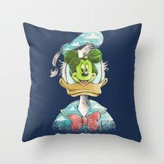 duck magritte Throw Pillow