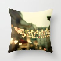 Looking For Love - Paris… Throw Pillow