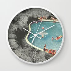 is this the place that they call paradise? Wall Clock