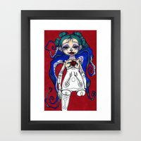 ball jointed cephalopod Framed Art Print