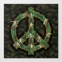 Peace Keepers Canvas Print