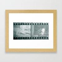 Irra y Zorro Framed Art Print