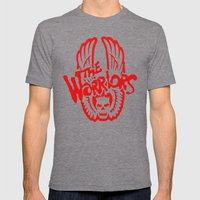 The Warriors  Mens Fitted Tee Tri-Grey SMALL