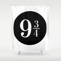 Platform 9 3/4 Shower Curtain