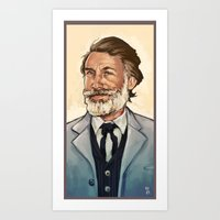 King Shultz Art Print