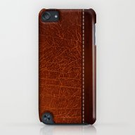 iPhone & iPod Case featuring Brown Leather Look #2 by Juliana RW