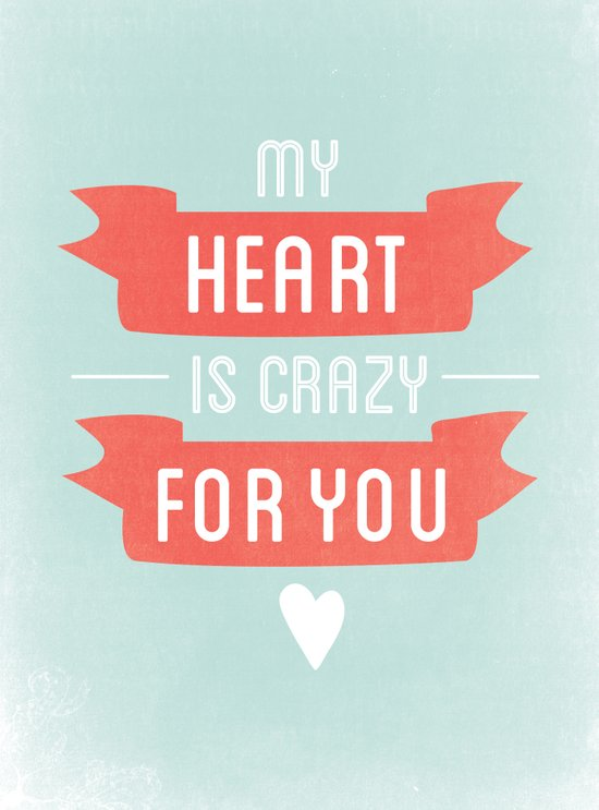 Crazy For You Canvas Print