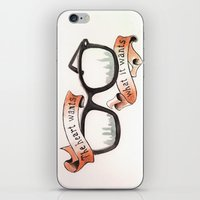 The Heart Wants What It Wants iPhone & iPod Skin