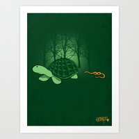 Be Proud Of Who You Are … Art Print