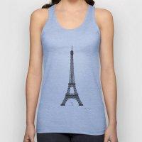 Eiffel Tower - First Kiss Unisex Tank Top