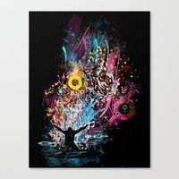 soul dj Canvas Print