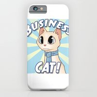 Business Cat! iPhone 6 Slim Case